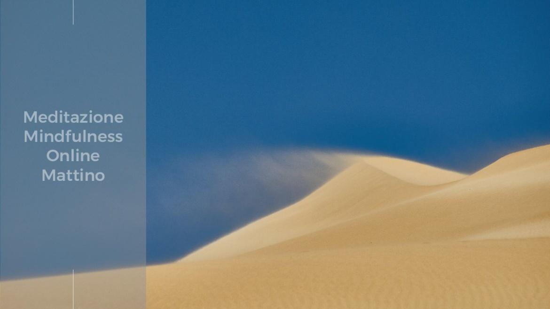 Una citazione di Haruki Murakami per la meditazione online del mattino