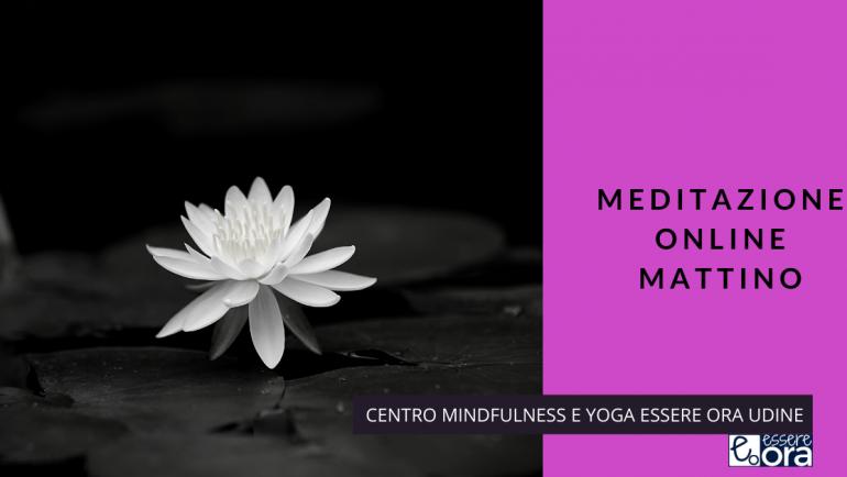 Un brano  di Thich Nhat Hanh per la meditazione online del mattino