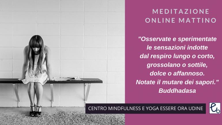 Respiro: un brano  di Buddhadasa per la meditazione online del mattino