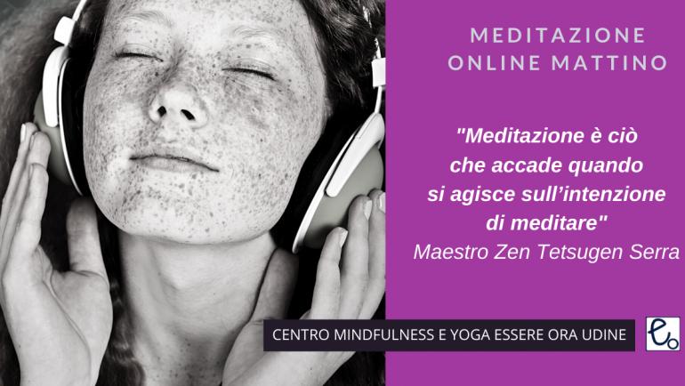Meditare: un brano  del Maestro Zen Tetsugen Serra per la sessione online del mattino