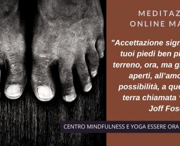 Un brano di Joff Foser per la meditazione online del mattino